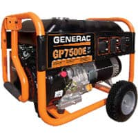 GP7500E 5943 Portable Generator by Generac Power Systems
