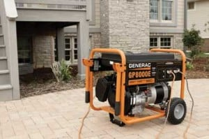 Generac general purpose 8000 watt portable generator
