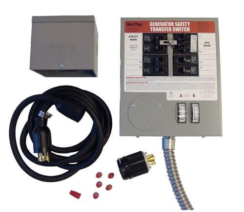 Portable Generator Manual Transfer Switch Basics