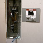 Flush Mount Manual Transfer Switch