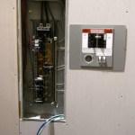 Flush Mount Manual Transfer Switch