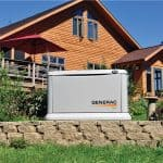 The 15 kilowatt EcoGen Installed for living off the grid.