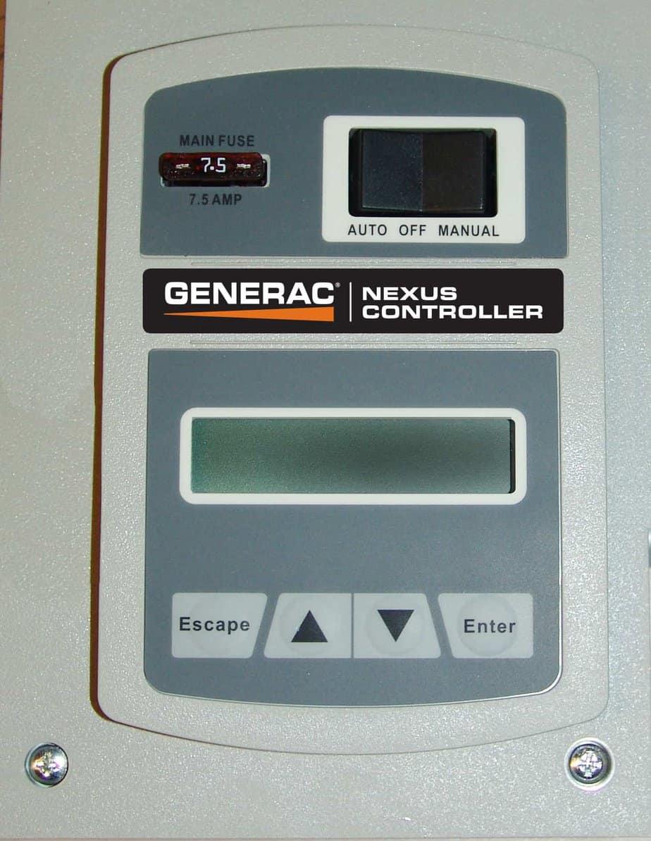 generac guardian 5873  u2122 17kw standby generator system 100a