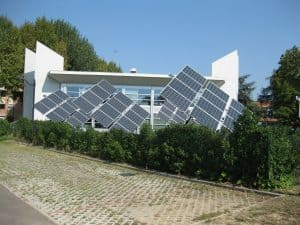 Solar Panels for an Off Grid House