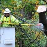 Hurricane Sandy: More than 100K already without power