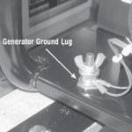 Generator Ground Lug