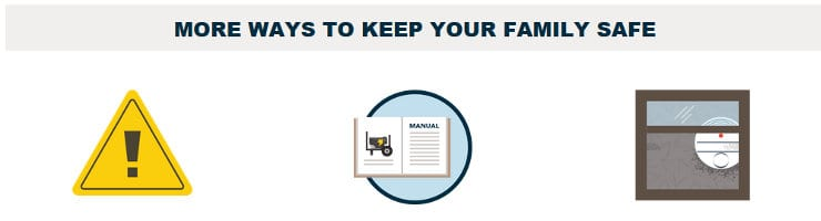 More Ways to Keep Your Family Safe