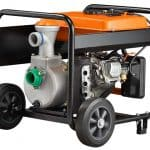 Generac 2-inch semi-trash gasoline powered water pump.