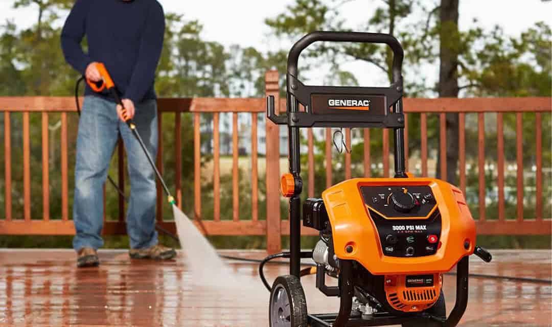 Generac Commercial-Grade Pressure Washers