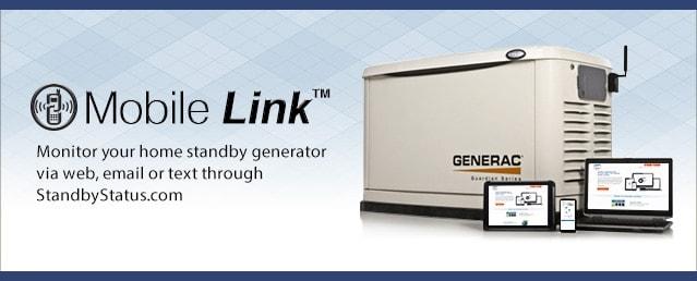 Generac Mobile Link Remote Monitoring Service