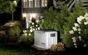 A Generac Standby Generator for Home Use Supply Power during an Outage