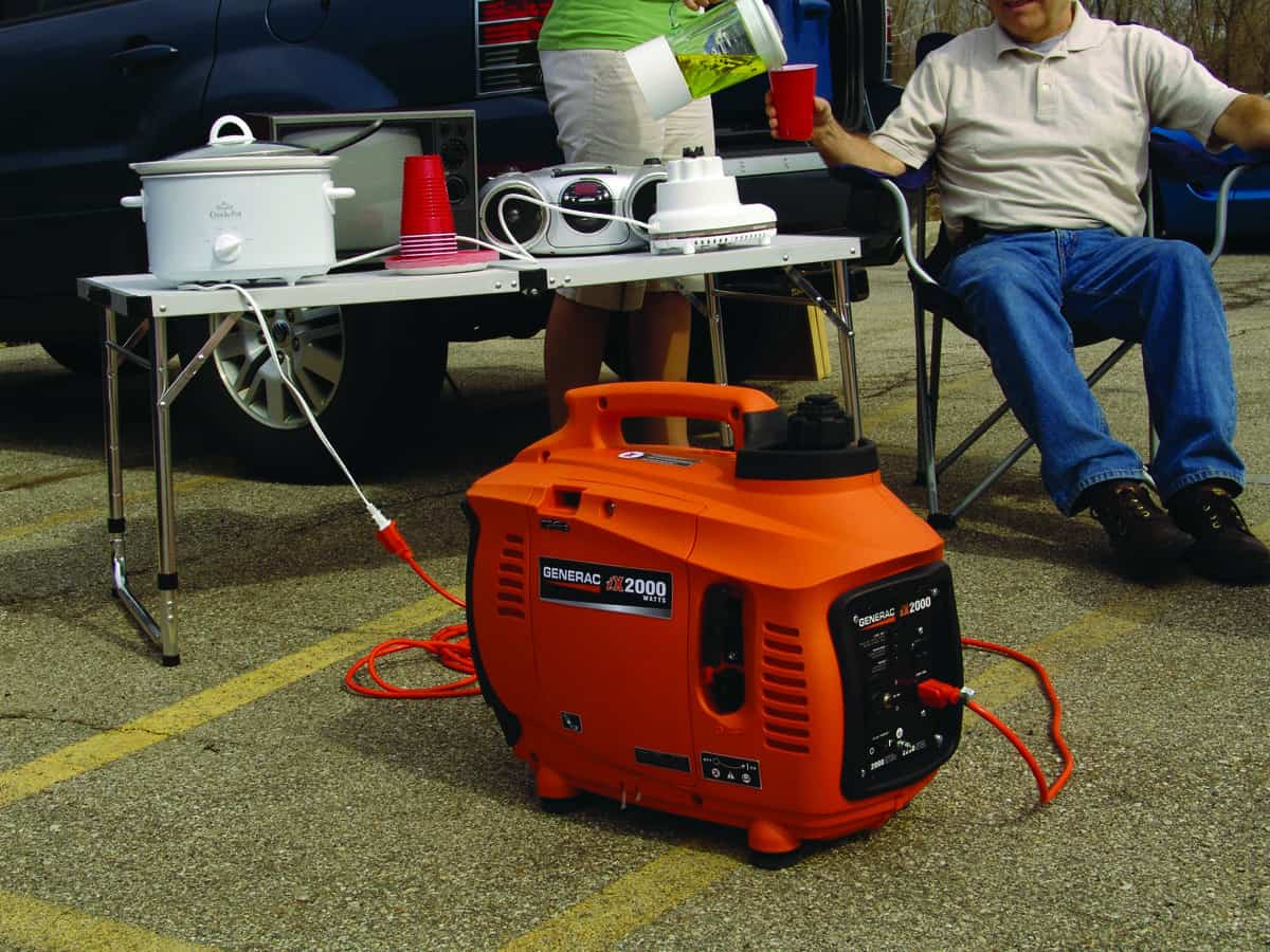 Portable Generators Power Up Outdoor Summer Activities