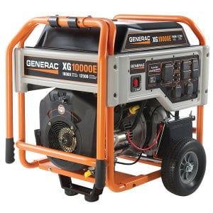 10,000 Wat Generac XG10000E Model 5802 Portable Generator