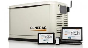 Mobile Link with Generac Guardian Standby Generator