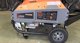 Adding Oil to Your LP Series Portable Generator