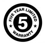 Five Year Limited Warranty