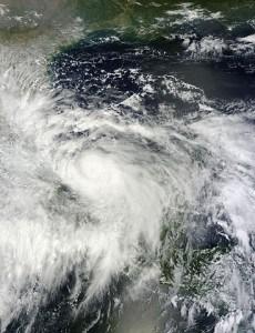 Image by NASA of Hurricane Ingrid