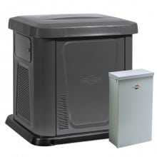 Briggs & Stratton Automatic 12kW NG/LP Home Generator System with 200 Amp ATS Whole House SE