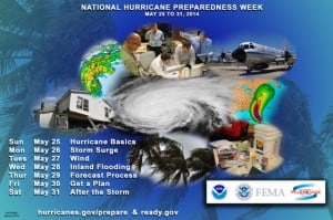 NOAAs hurricane preparedness week banner