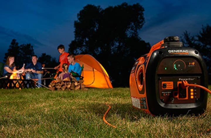 Generator Power for Outdoor Summer Fun