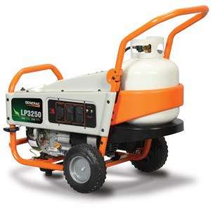 Portable LP Gas - Powered Generator by Generac