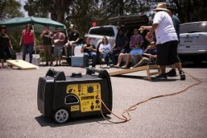 Champion 3400 Watt Remote Start Portable at Outoor Party Games