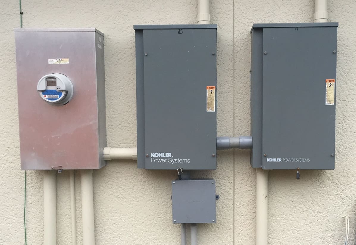 Installation Of Two Automatic Transfer Switches For A