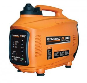 Generac iX800 portable inverter generator.