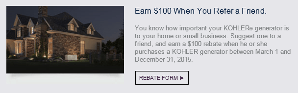 Earn $100 When You Refer a Friend