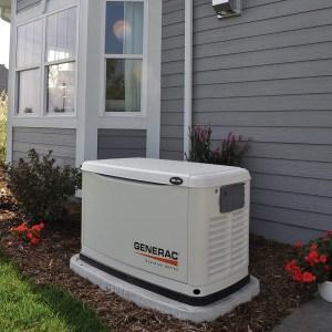 generac home generators. A Generator On Gen Pad Generac Home Generators
