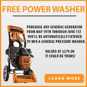 Generac Pressure Washer Give-A-Way!
