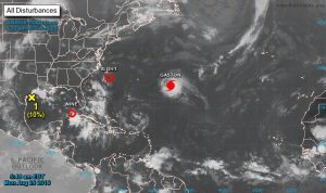 Hurricane Gaston, TD Eight, TD Nine