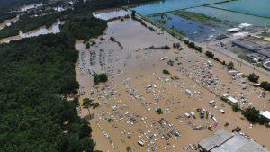 Louisiana Homes Flooded