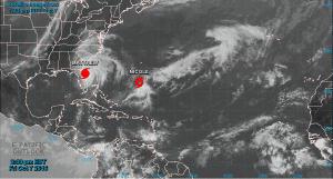 Hurricane Matthew on October 7, 2016