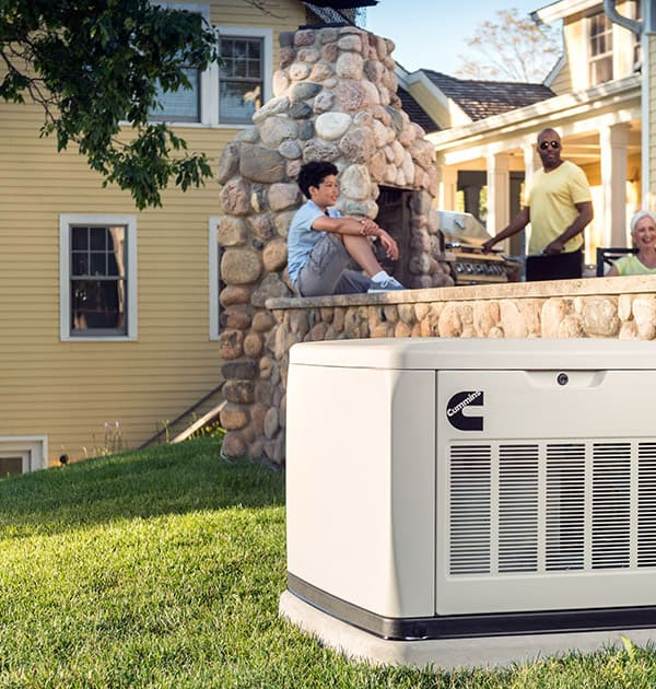 Quiet Connect Home Standby Generator by Cummins Power Generation