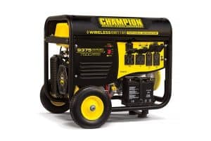 Champion 7500 Watt Dual Fuel Electric Start Portable Generator