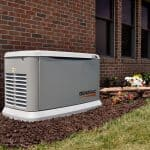 Guardian Home Standby Generator Installed Outside a Home