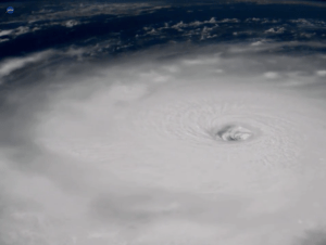 Hurricane Irma from the International Space Station (NASA image)
