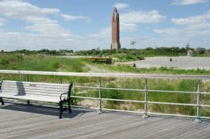 Jones Beach State Park after restoration.