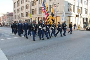2016 Veterans Day Parade in Baltimore Maryland