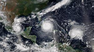Hurricanes Katia, Irma, and Jose active in Atlantic Basin