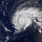 Satellite Image of Hurricane Jose Nearing Leeward Islands