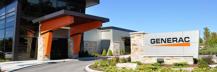 The Home of Generac Power Systems in Waukesha, Wisconsin