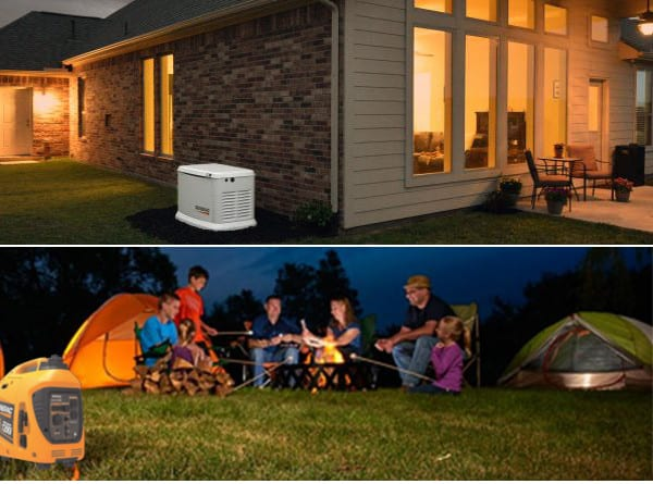 Best bang for your buck! A Small Review of Portable and Standby Generators