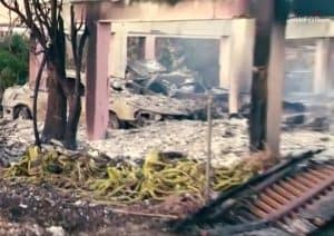 Devastated Florida Keys Home Following Hurricane Irma
