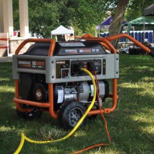 Generac Portable at a Festival