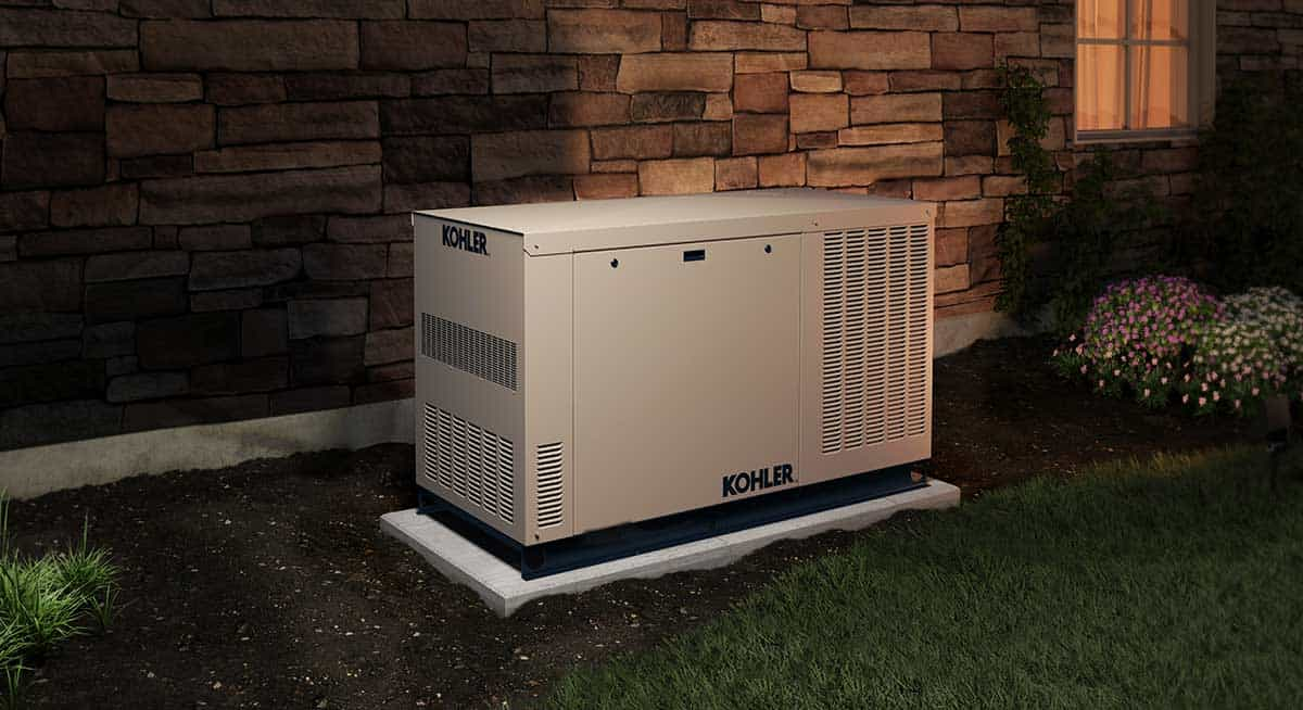 Kohler 6kW to 150kW Backup Generators