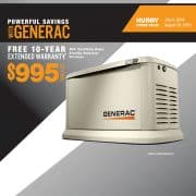FREE 10-YEAR EXTENDED WARRANTY