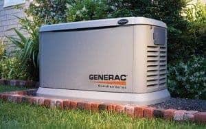 A Generac Home Backup Generator