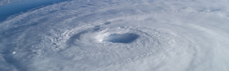 The Eye of Hurricane Isabelle